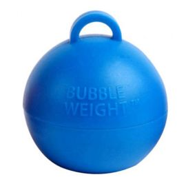 BLUE BUBBLE BALLOON WEIGHTS PACK 25