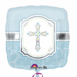 18 INCH COMMUNION BLESSING BLUE 11384601