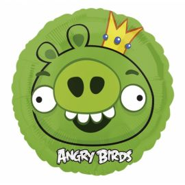 18 INCH ANGRY BIRDS - KING PIG