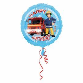 18 INCH FIREMAN SAM HAPPY BIRTHDAY