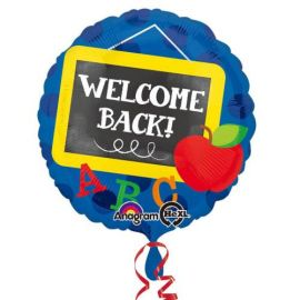 18 INCH FOIL WELCOME BACK ABC