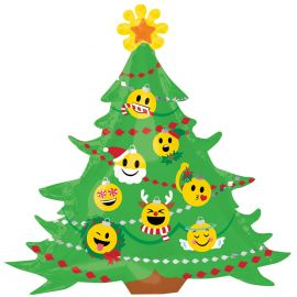 SUPERSHAPE CHRISTMAS TREE  BALLOON