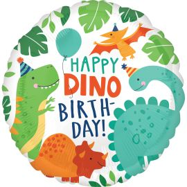 18 INCH HAPPY DINO BIRTHDAY - ANAGRAM