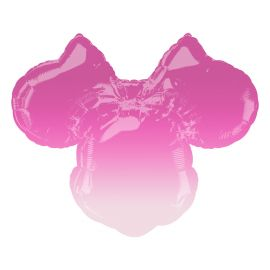LARGE SHAPE MINNIE MOUSE FOREVER OMBRE