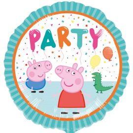 18 INCH PEPPA PIG PARTY