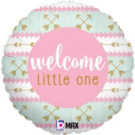 18 INCH WELCOME LITTLE ONE PINK 36692P 030625366922