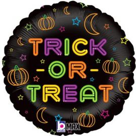 18 INCH TRICK OR TREAT HOLOGRAPHIC