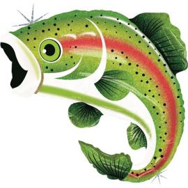 29 INCH RAINBOW TROUT 85655H 030625856553