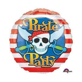 18 INCH PIRATE PARTY FOIL
