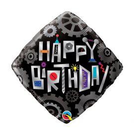 18 INCH HAPPY BIRTHDAY ROBOT FOIL