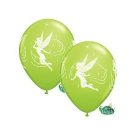 12 INCH LIME GREEN TINKERBELL PK 0F 6