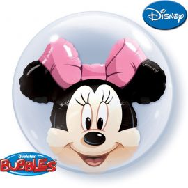 24 INCH DOUBLE BUBBLE MINNIE MOUSE