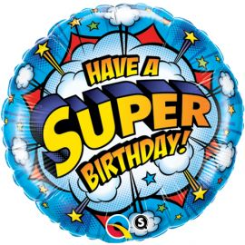 18 INCH HAVE A SUPER BIRTHDAY