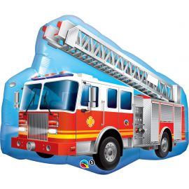 36 INCH RED FIRE TRUCK