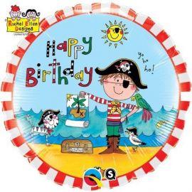 18 INCH HAPPY BIRTHDAY PIRATE