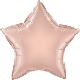 18 INCH FOIL ROSE GOLD STAR