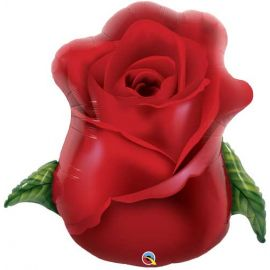33 INCH RED ROSE BUD