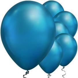 11 INCH CHROME BLUE 25CT