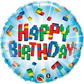 09 INCH BIRTHDAY EXPLODING BRICKS 58431 071444584319
