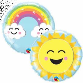 09 INCH SUNSHINE RAINBOW 58459 017444584593