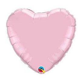 PEARL PINK 36 INCH HEART BALLOON
