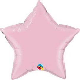 PALE PINK 36 INCH STAR BALLOON