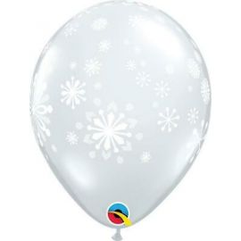 11 INCH CONTEMPORARY SNOWFLAKES PK OF 25