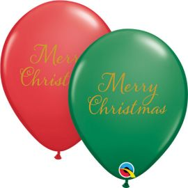 11 INCH SIMPLY MERRY CHRISTMAS PK OF 25
