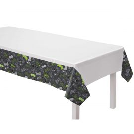 LEVEL UP PAPER TABLECLOTH 1.2M X 1.8M 572948-55 192937110843