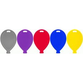 PRIMARY MIX BALLOON SHAPE WEIGHTS 100 PACK