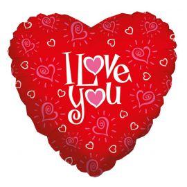 18 INCH I LOVE YOU HEART 030625169677