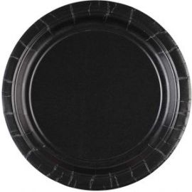 PLATE 17.7CM S/C JET BLACK 0048419039051