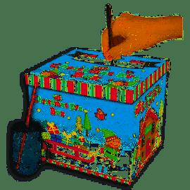 XMAS EVE BOX ELF