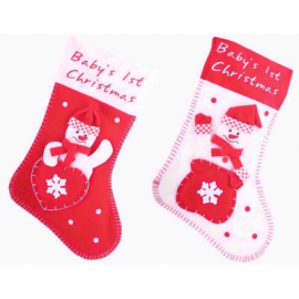 BABYS FIRST CHRISTMAS STOCKING PK OF 12
