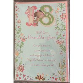 18TH GRANDDAUGHTER CODE 75 PK OF 6