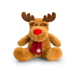 REINDEER WITH SCARF 20CM