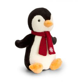 PENGUIN WITH SCARF 25CM