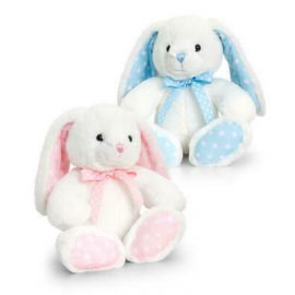 25CM BABY SPOTTY RABBIT SN0786 VARIOUS COLOURS 5027148007864