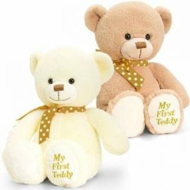 20CM SUPERSOFT MY FIRST TEDDY SN0787 VARIOUS COLOU 5027148007871