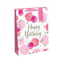 GIRL BIRTHDAY MEDIUM BAG PK OF 6 28914-3C 5033601511663