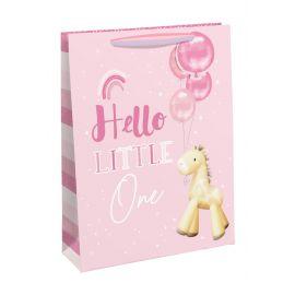HELLO LITTLE ONE GIRAFFE MEDIUM BAG 6 PCS 5033601549413