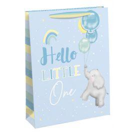 HELLO LITTLE ONE BABY ELEPHANT LARGE BAG 6 PCS 5033601549536