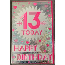 13 TODAY PINK CODE 350 PK OF 6