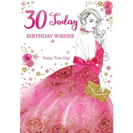 30 TODAY BIRTHDAY WISHES CODE 50 PK OF 6
