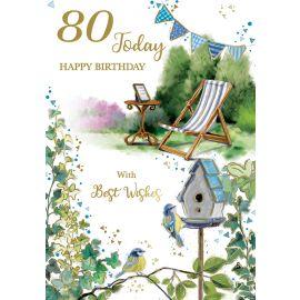 80 TODAY HAPPY BIRTHDAY  CODE 50 PK OF 6