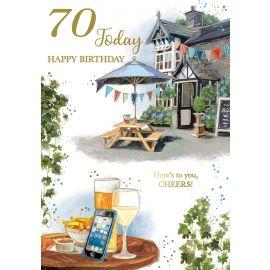 70 TODAY HAPPY BIRTHDAY CODE 50 PK OF 6