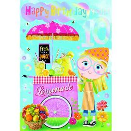 HAPPY BIRTHDAY YOU ARE 10 CODE 50 PK OF 6