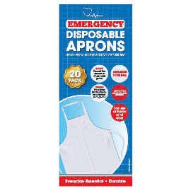 10 PACK DISPOSABLE APRONS