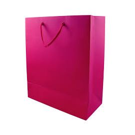 CERISE LARGE GIFT BAGS PK6