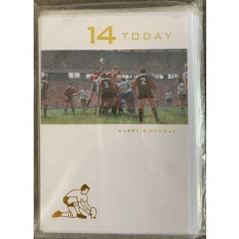 14 TODAY RUGBY PLAYER CODE 50 PK OF 12
